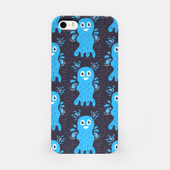 Cute Happy Sea Creature iPhone Case thumbnail image