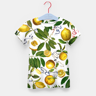 Thumbnail image of Lemon Tree white Kid's T-shirt, Live Heroes