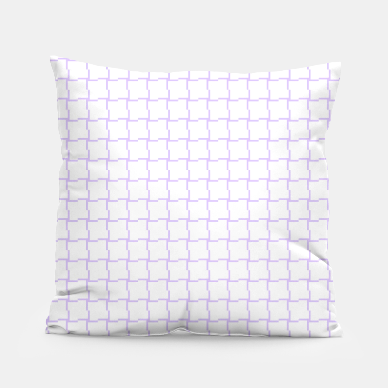 Image of Purple Blocks Pillow - Live Heroes