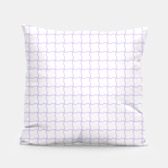 Thumbnail image of Purple Blocks Pillow, Live Heroes