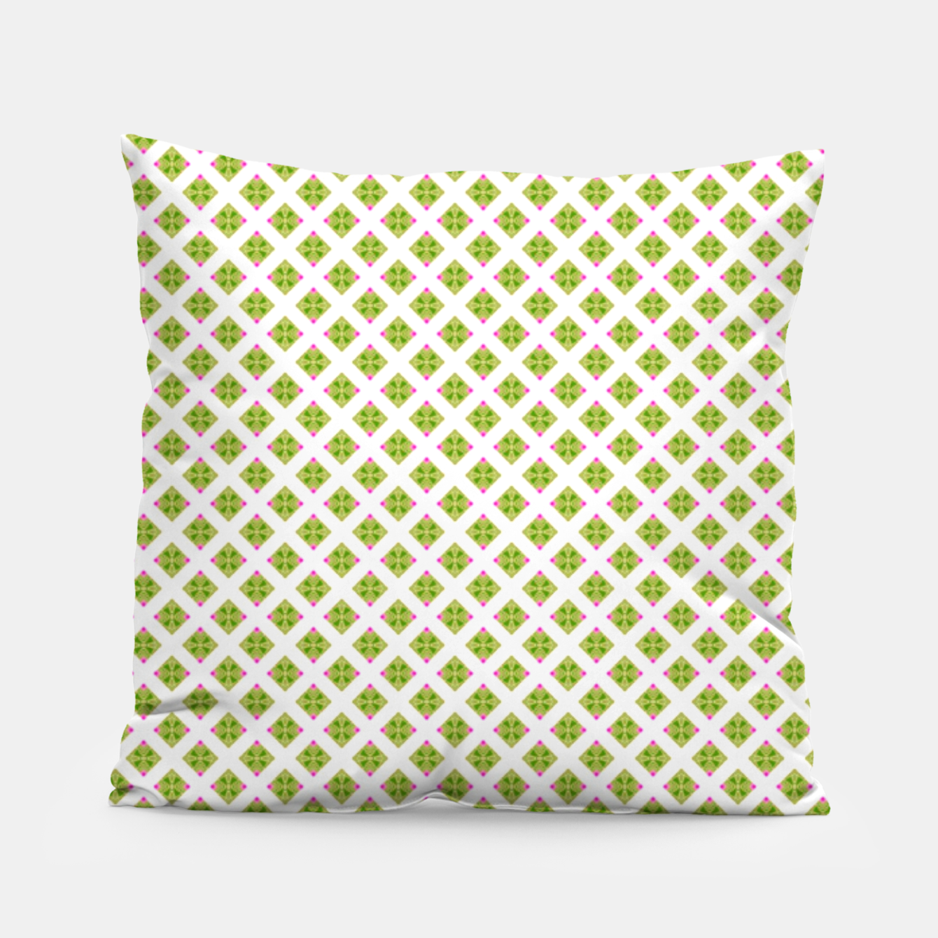 Image of Summer green large pattern Pillow - Live Heroes