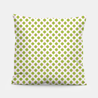Thumbnail image of Summer green large pattern Pillow, Live Heroes