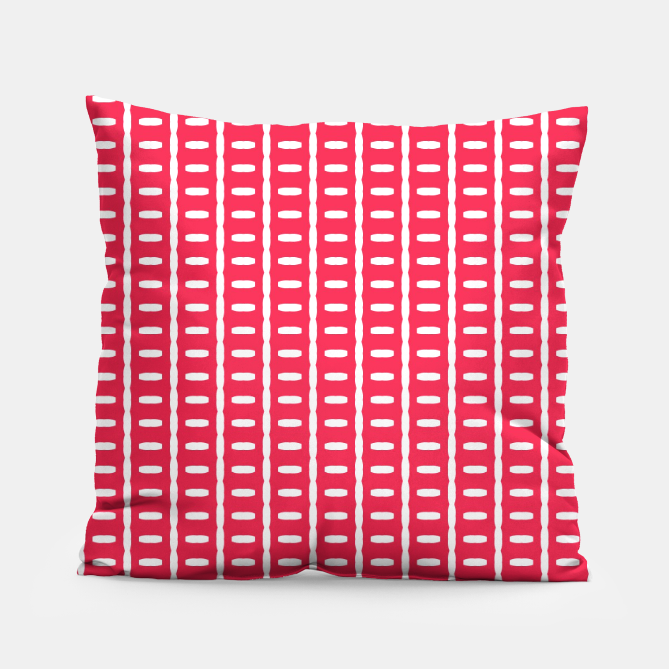 Image of Red Stripes  Pillow - Live Heroes