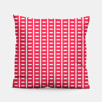Thumbnail image of Red Stripes  Pillow, Live Heroes