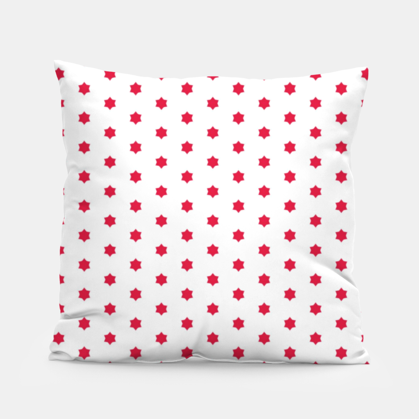 Image of Red Stars  Pillow - Live Heroes