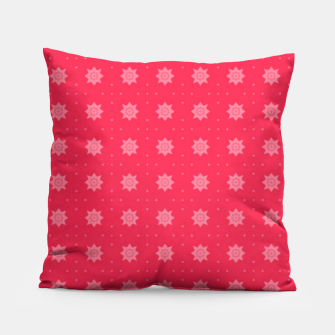 Thumbnail image of Red Flowers  Pillow, Live Heroes