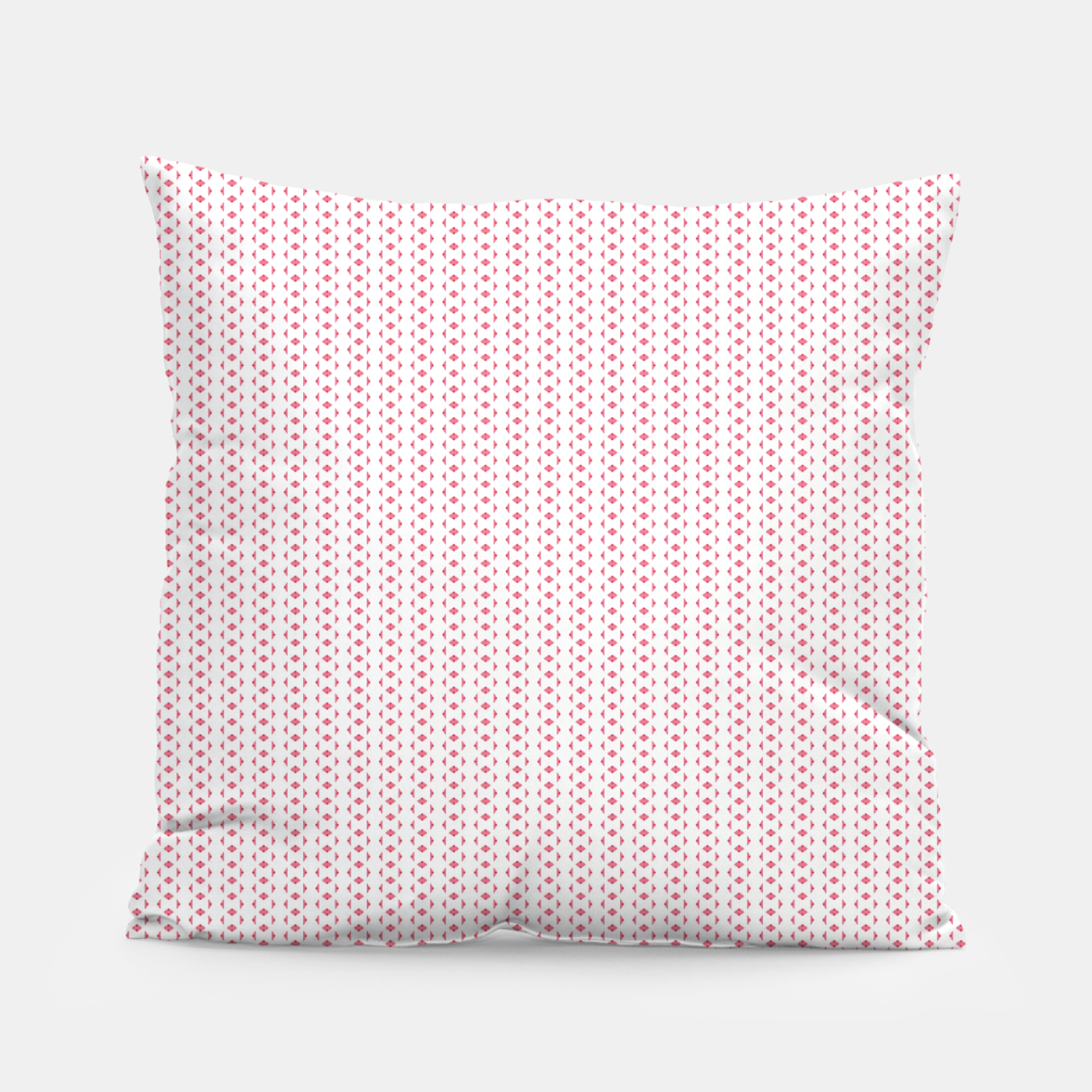 Image of Red Lines  Pillow - Live Heroes