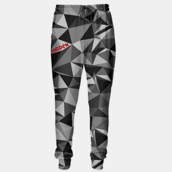 Miniatur Camo pants B/W - HiddeN LocatioN, Live Heroes