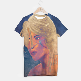 Thumbnail image of Ciri The Witcher 3 Wild Hunt Fanart Attempt T-shirt, Live Heroes