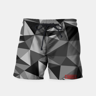 Miniatur Camo swim pants B/W - HiddeN LocatioN, Live Heroes