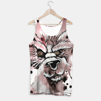 Thumbnail image of wolf in me  Tank Top, Live Heroes