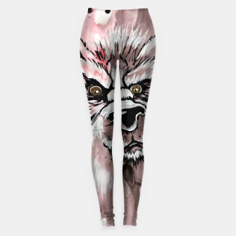 Thumbnail image of wolf in me  Leggings, Live Heroes