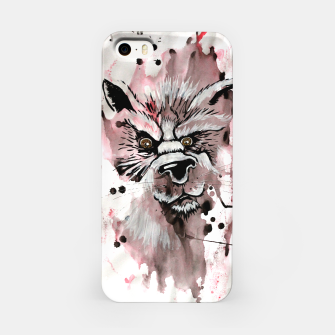 Thumbnail image of wolf in me  iPhone Case, Live Heroes
