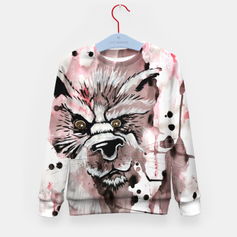 Thumbnail image of wolf in me  Kid's Sweater, Live Heroes