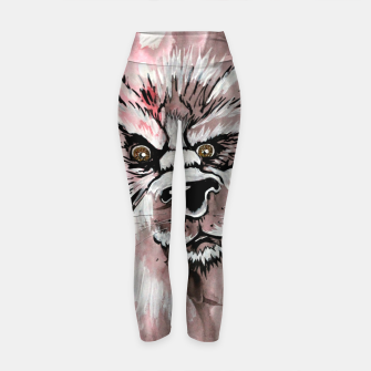 Thumbnail image of wolf in me  Yoga Pants, Live Heroes
