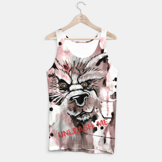 Thumbnail image of Unleash me Tank Top, Live Heroes