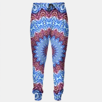 Thumbnail image of Blue mandala Sweatpants, Live Heroes