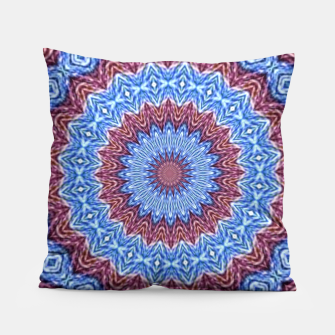 Thumbnail image of Blue mandala Pillow, Live Heroes