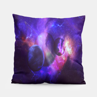 Thumbnail image of Planetary wings  Pillow, Live Heroes