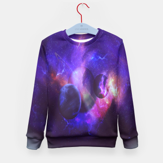 Thumbnail image of Planetary wings  Kid's Sweater, Live Heroes