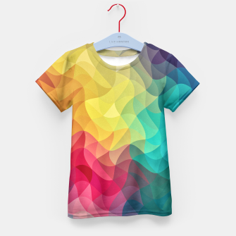 Miniature de image de Abstract Color Wave Flash Kid's T-shirt, Live Heroes