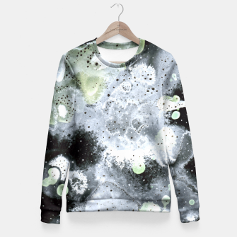 Thumbnail image of Hog head galaxy Fitted Waist Sweater, Live Heroes