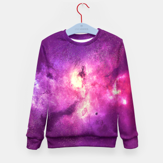 Thumbnail image of Galaxia  Kid's Sweater, Live Heroes