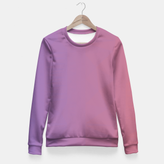 Thumbnail image of Poligonal gradient Fitted Waist Sweater, Live Heroes