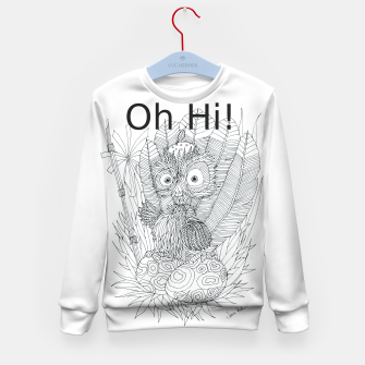 Thumbnail image of Oh Hi Kid's Sweater, Live Heroes