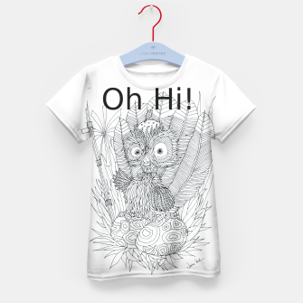 Thumbnail image of Oh Hi Kid's T-shirt, Live Heroes
