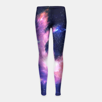 Thumbnail image of Rise of the phoenix Girl's Leggings, Live Heroes