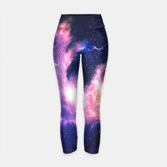 Thumbnail image of Rise of the phoenix Yoga Pants, Live Heroes