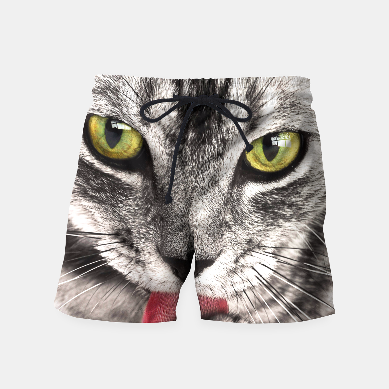 Image of cat Swim Shorts - Live Heroes