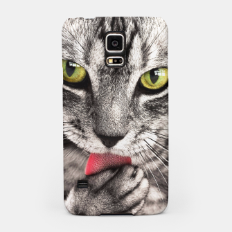 Thumbnail image of cat Samsung Case, Live Heroes