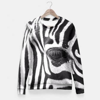 Zebra Fitted Waist Sweater thumbnail image