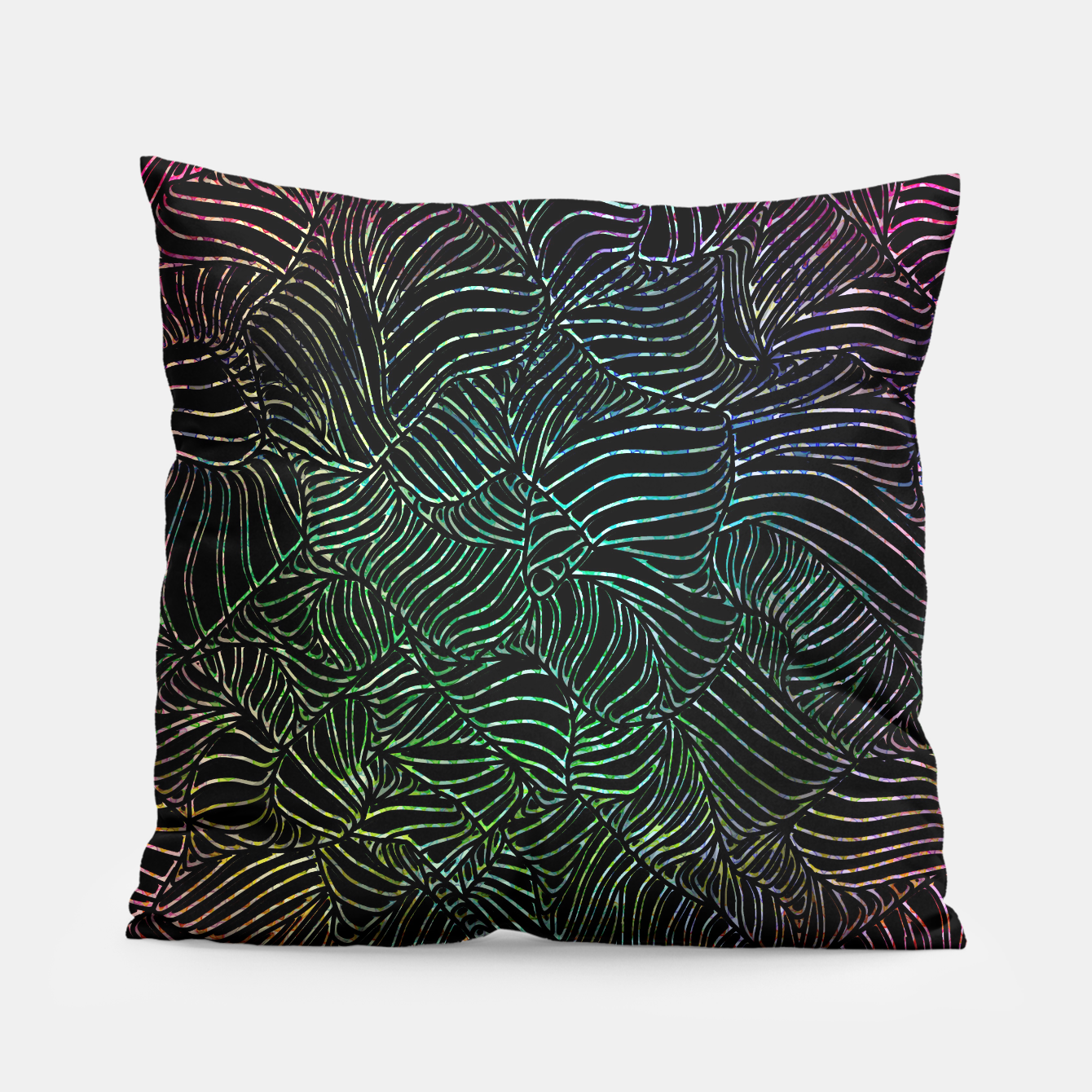 Image of ptrn01 Pillow - Live Heroes