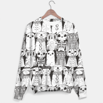 Halloween monsters Sweater obraz miniatury