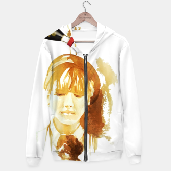 Thumbnail image of Soy sauce portrait Hoodie, Live Heroes