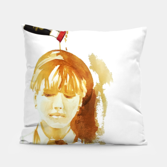 Thumbnail image of Soy sauce portrait Pillow, Live Heroes