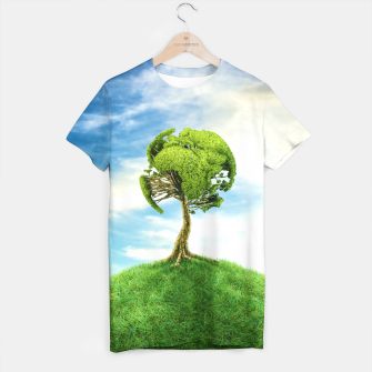Thumbnail image of World Tree T-shirt, Live Heroes