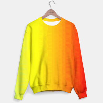 Thumbnail image of Polygon mesh art Sweater, Live Heroes