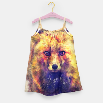 Thumbnail image of Little Fox Girl's Dress, Live Heroes
