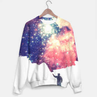Painting the universe Awsome Space Art Design Sweater thumbnail image