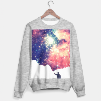 Painting the universe Awsome Space Art Design Sweater regular thumbnail image