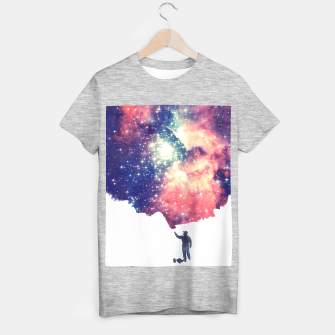 Painting the universe Awsome Space Art Design T-shirt regular thumbnail image