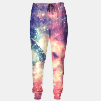 Miniatur Painting the universe Awsome Space Art Design Sweatpants, Live Heroes