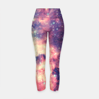 Painting the universe Awsome Space Art Design Yoga Pants thumbnail image