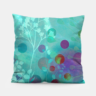 Thumbnail image of Efflorescence blue Coussin, Live Heroes