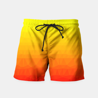 Thumbnail image of Polygon mesh art Swim Shorts, Live Heroes