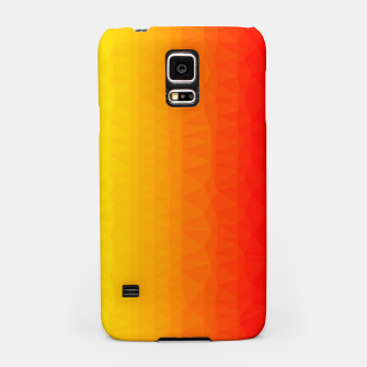 Thumbnail image of Polygon mesh art Samsung Case, Live Heroes